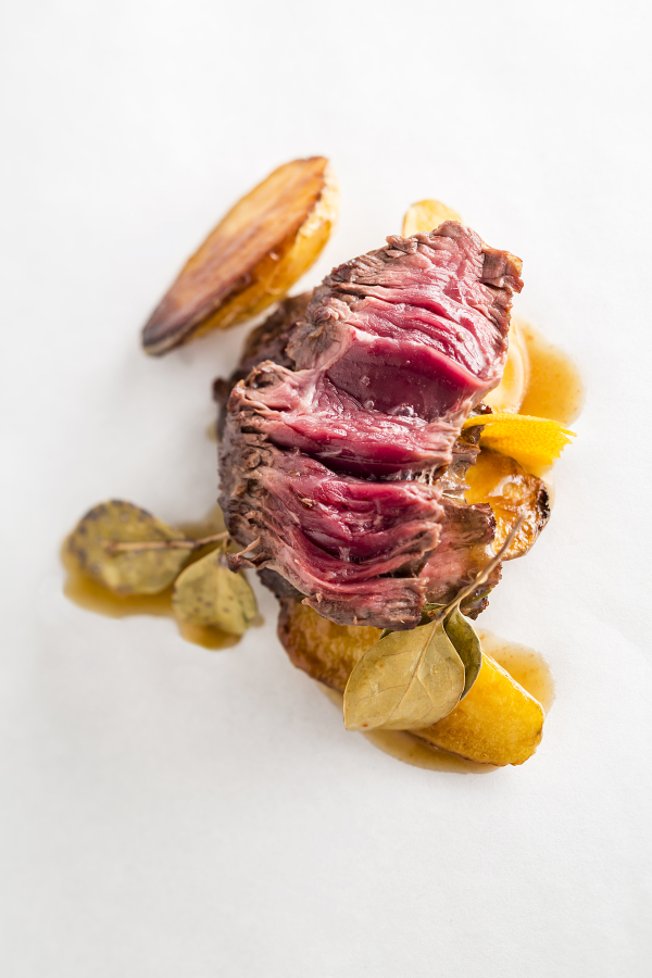 Tartare de bœuf et condiment aux algues, une recette de Supersec par Philippe Emanuelli