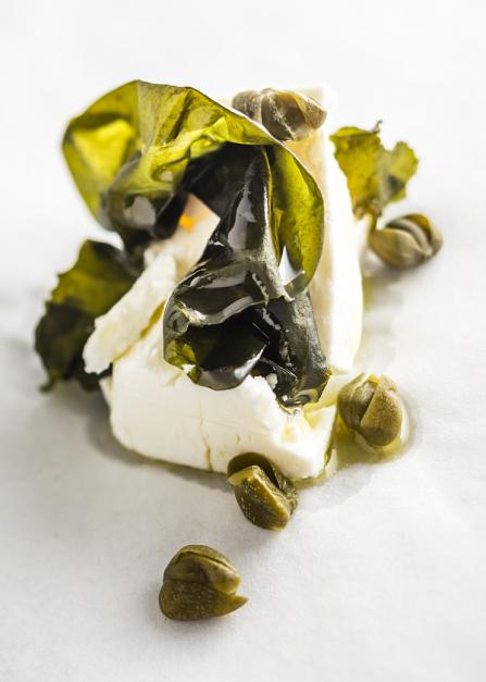 Salade de wakame à la grecque, une recette Supersec par Philippe Emanuelli