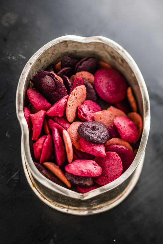 Croquants de fruits rouges et blancs, un délice sain bio et sans gluten par Supersec