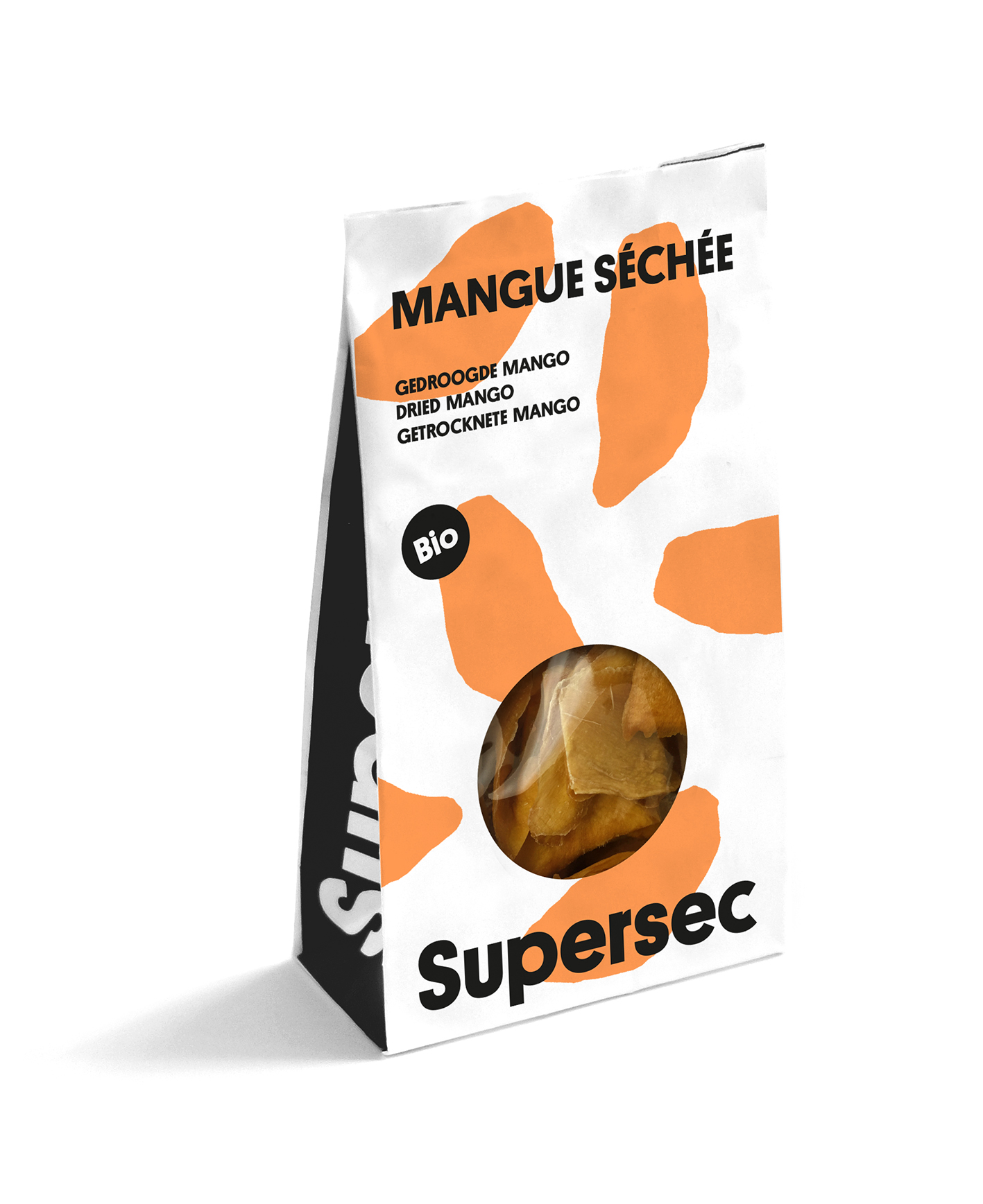 Sachet Dry Fruits Mangue bio séchée de Supersec