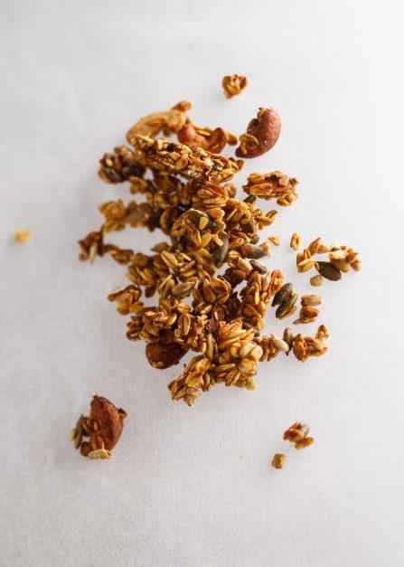 Granola bio, un petit-déjeuner de Supersec