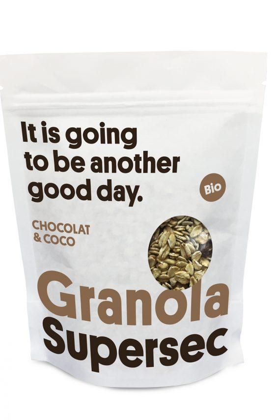 Granola snack choco & coco en vrac de Supersec