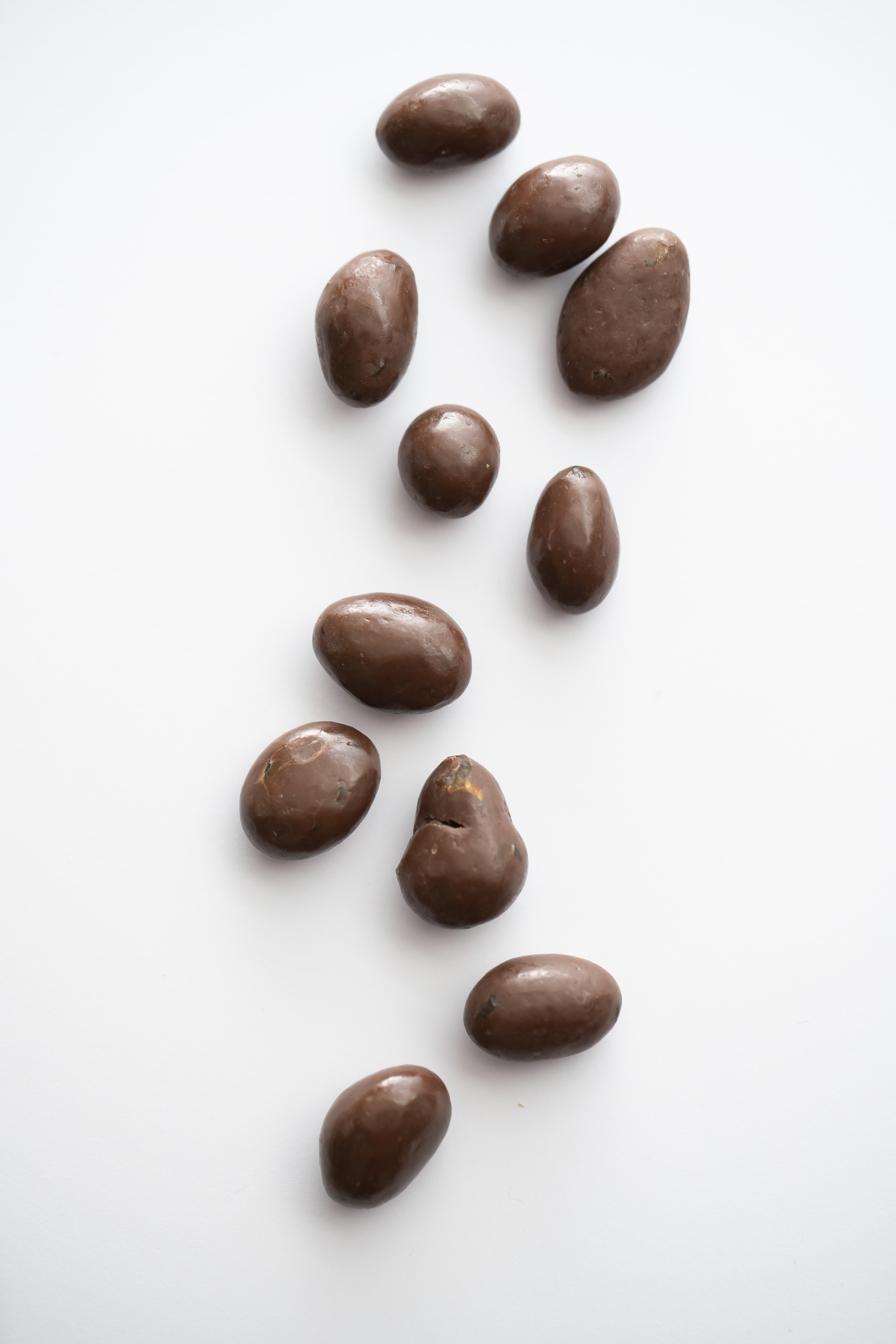 Groseilles enrobées de chocolat belge Supersec, snack bio