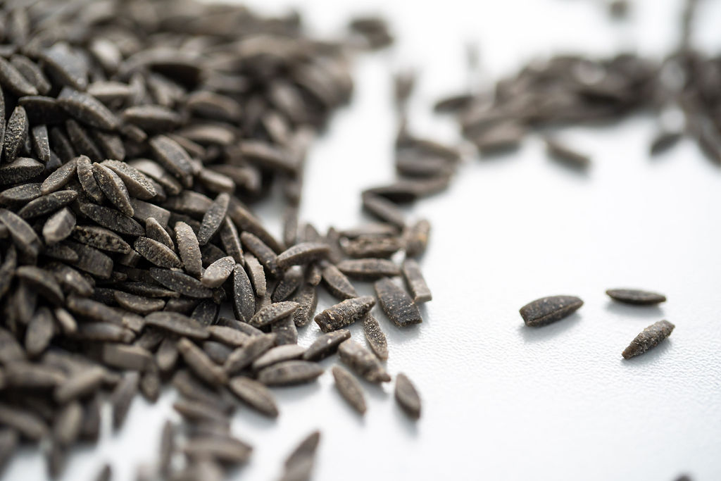 Risoni grec à l'encre de sèche en vrac, pâtes bio de la marque Supersec