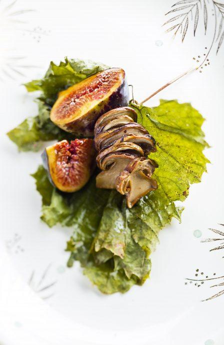 bouchon, figues & jus de veau, une recette de Supersec par Philippe Emanuelli