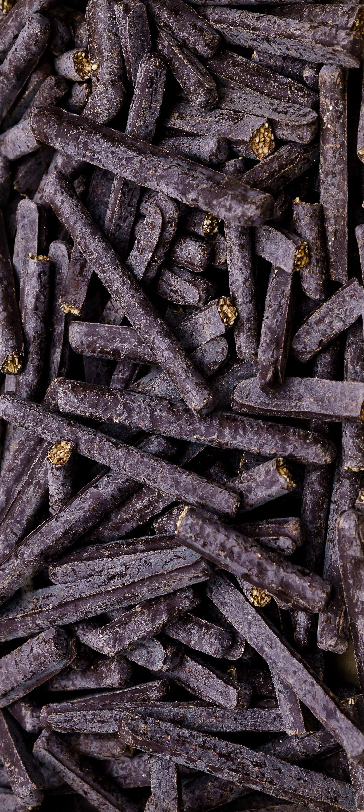 Fingers au sésame au chocolat bio et sans gluten de Supersec