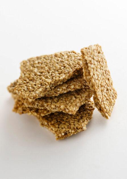 Sésame au miel de montagne, un biscuit bio et sans gluten Supersec