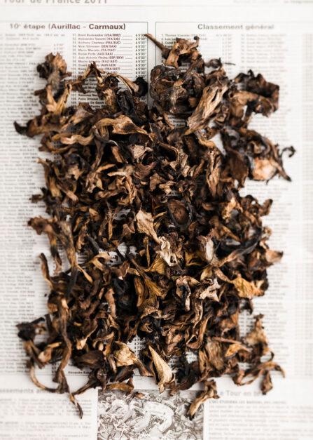 Trompette de la mort, des champignons bio séchés par Supersec