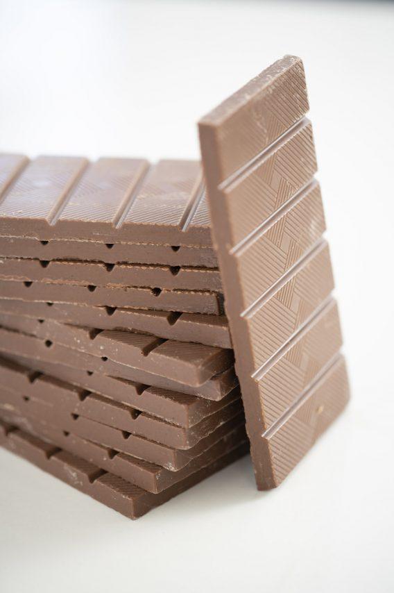 Tablette Superchoc Lait Caramel beurre salé, chocolat belge et bio de Supersec