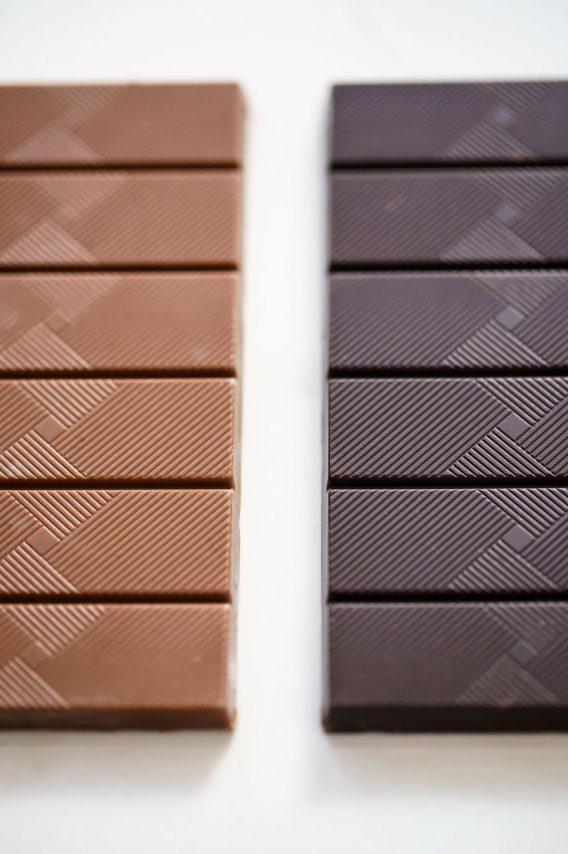 Tablettes en vrac Superchoc, chocolat belge et bio de Supersec