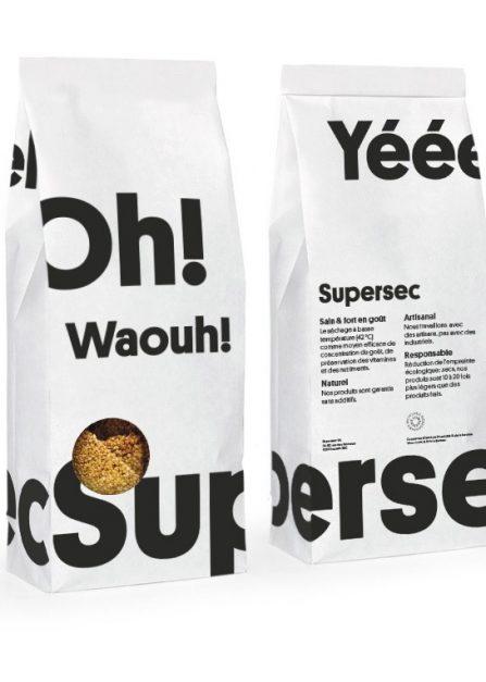 Croquants au sésame au miel de montagne bio et sans gluten de Supersec