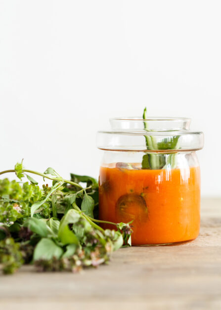 tomates gaspacho recette supersec