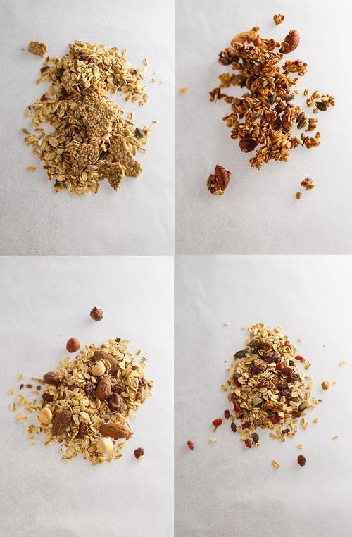 Supersec petit déjeuner granola et mueslis