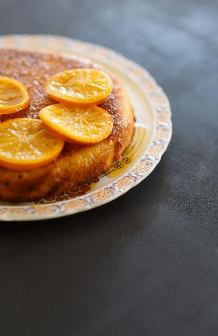 Orange gâteau sans gluten hiver